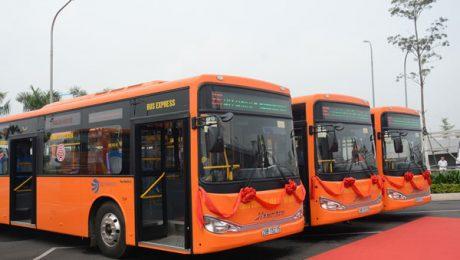 High Quality Express Bus 86 Noi Bai Airport - Hanoi City - Noi Bai Airport