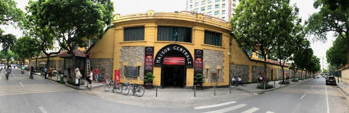 Hoa Lo, where the most famous Vietnam War prisoner was held