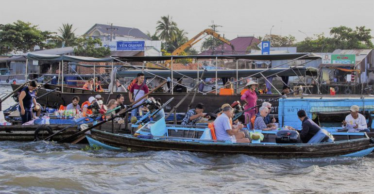 Cai Rang Floating Market: a floating existence rooted deep in the soil