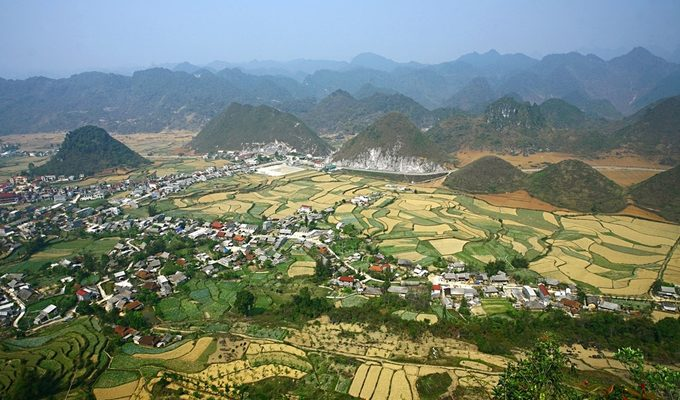 Quan Ba - Ha Giang's ample bosom nurtures its valleys, rivers